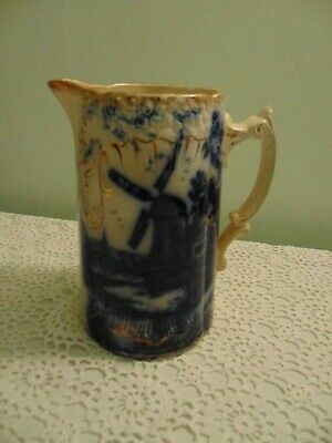 Antique Pitcher  Windmill Design  Perfect condition  Collectors item