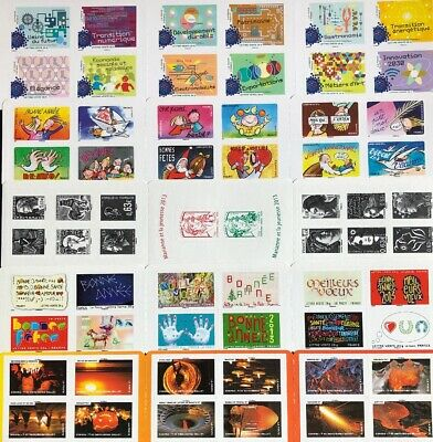 Timbres France Neufs - Lot Carnets- MNH - Faciale 50,81€