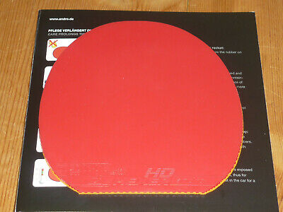 ANDRO Belag Hexer HD rot 2,1 mm