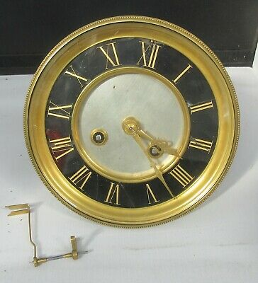 French mantle clock movement stampded BR nos 74013