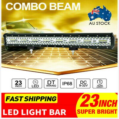 23inch CREE LED Light Bar Spot Flood Driving Lamp Offroad 4WD 4x4 Truck for AR