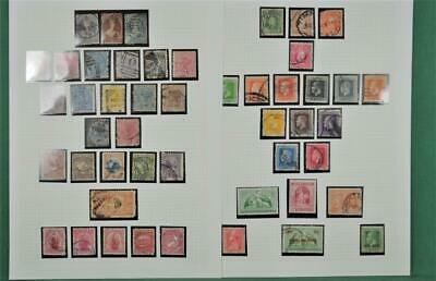 New Zealand Stamps Mixed Selection On 3 Pages (A55)