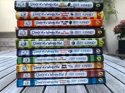 Diary of a Wimpy Kid Collection - 10 Books.