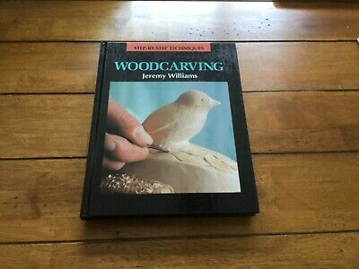 Step By Step Techniques Woodcarving