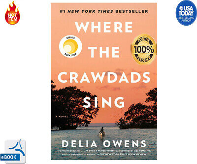 Where the Crawdads Sing by Delia Owens, #NEW YORK TIMES BESTSELLER 2019