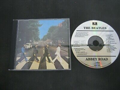 Music CD Album THE BEATLES ABBEY ROAD Original not remastered (53)