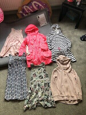 Job Lot Girls Clothes Age 7-8 Including Next Bluezoo & H&M