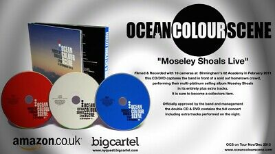 Ocean Colour Scene Moseley Shoals Limited Edition Live CD/DVD