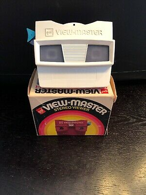 VIEW-MASTER STEREO VIEWER/CAMERA with original BOX GAF for 3-D reels SET/LOT