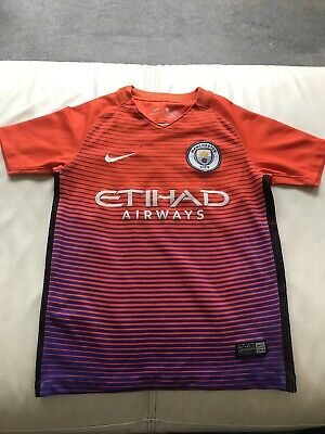 Manchester City Nike Third Shirt 2016-2017 Season 6-8 years, Short Sleeved.