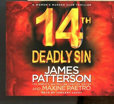 James Patterson / 14th Deadly Sin - 4CD Audiobook - MINT