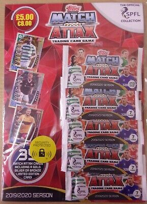 Topps Match Attax SPFL 2019/20 ~ Trading Card Collection ~ Multipack