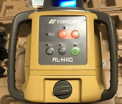 Topcon RL-H4C Self-Leveling Rotary Laser Level With Case