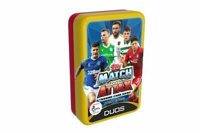 Topps Match Attax SPFL 2019/20 Trading Card Collection ~ Mega Tin ~ Styles Vary