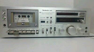 Technics M56 RS-M56 Stereo Tape Cassette Deck Player Recorder