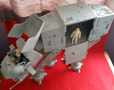 Vintage star wars AT-AT ATAT near complete working electrics & figures