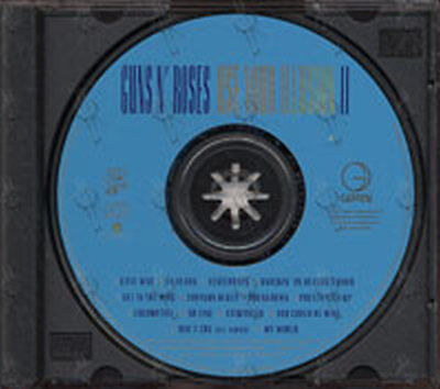 Guns N' Roses Use Your Illusion II Parent Advisory 1991 Hard Rock Heavy Metal CD