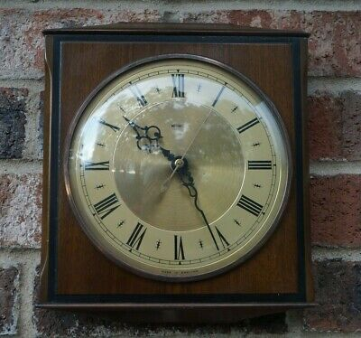 "METAMEC electrically rewound ""rementoire"" wall clock."
