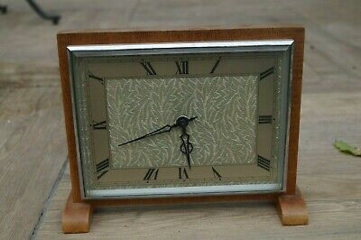 Smiths platform escapement mantel clock.