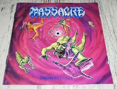 MASSACRE From Beyond FIRST PRESS 1991 EARACHE No Ifpi DEATH MONSTROSITY OBITUARY
