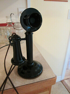 Candlestick Telephone Western Electric Restored fine quality working very nice