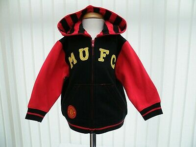 Manchester United F.C Baby Boys Hooded Jacket Tracksuit Top Age 12-18 Months