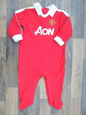 Manchester United F.C Babygrow Sleepsuit Official Merchandise 3-6 Months