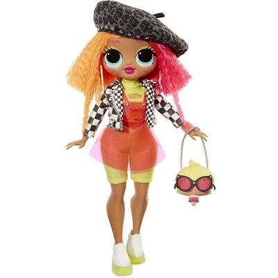 """NEW LOL Surprise OMG Series 1 Neonlicious - 10"""" Fashion Doll Big Sister PRIORITY"""