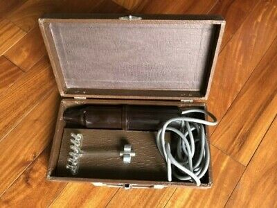 Working, Vintage therapy/stimulation violet wand with electrode