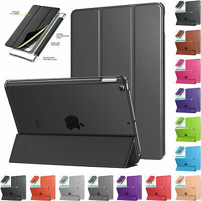 """Smart Magnetic Leather Stand Case Cover For iPad 2/3/4 9.7"""" 2018 Air 2 Mini, Pro"""