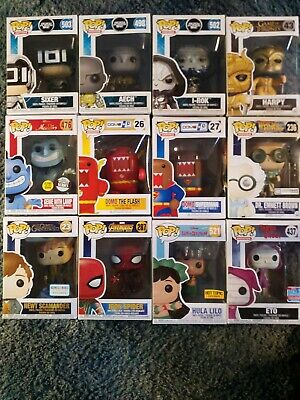 Funko Pop! Pop Lot Of 24 Pops. NEW Some Exclusive and Vaulted Starts at $2 each!