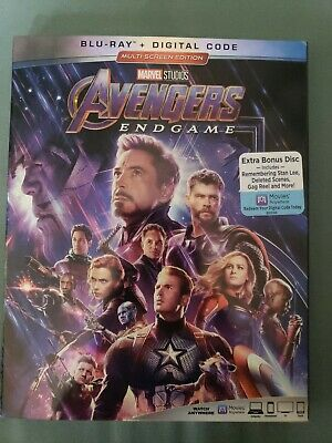 Avengers: Endgame (Blu-ray + Digital, 2019)
