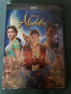 WILL SMITH Aladdin(DVD 2019) Brand New and Factory US SELLER Brand New