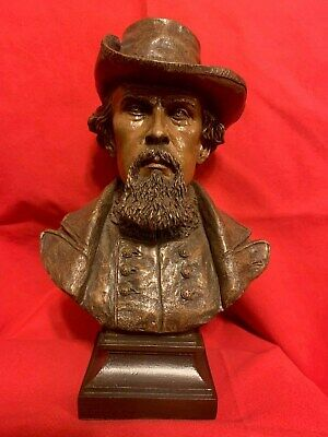 Ron Tunison Nathan Bedford Forrest Civil War Cold Cast Bronze Bust 330/350