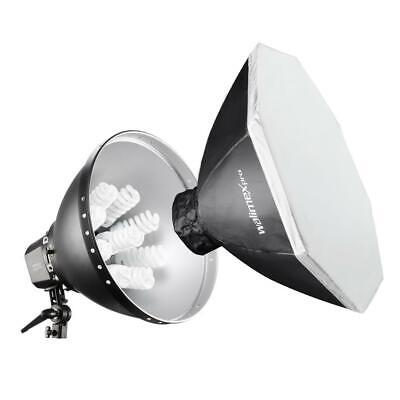 Walimex pro Daylight 1260 with Softbox, Ø 80cm (15407) New Original Packaging