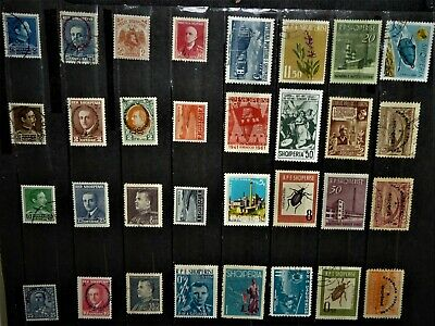 World Wide Stamps / Albania Shqiperise for your Collection !!!!