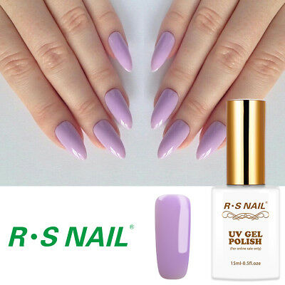 RS Nail UV LED Gel Nail Polish Varnish Soak Off Hybrid Colour 0.5fl.oze