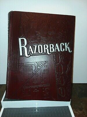 Amazing Historic  University Arkansas Year Book 1949 Great Condition