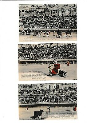 Postcards....bullfighting....a Series Of 12 Mint Cards.