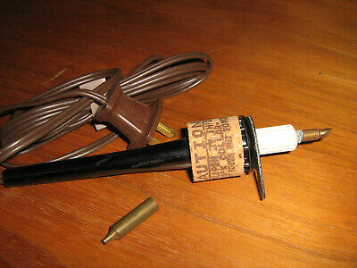 Vintage Change-O-Matic Exclusive ATF Tool WITH 3  WOODBURNING POINTS & STAND