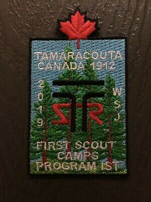 2019 World Scout Jamboree Official IST Staff Canada First Scout Camp Maple Leaf
