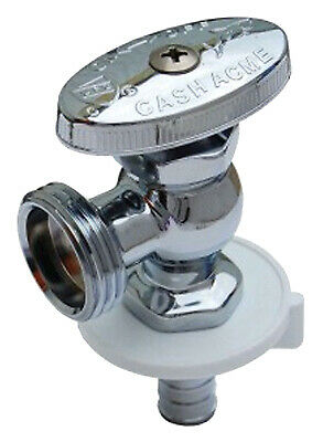 Garden Hose Angle Stop Valve, 1/2 x 3/4-In., Male