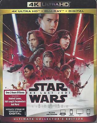 Star Wars The Last Jedi (4K Ultra Hd/Bluray)(3 Disc Set)(Used)