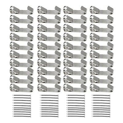 Heavy Duty Wall Mount Picture Frame Hooks Kit Framing Hanger Wall with Screws