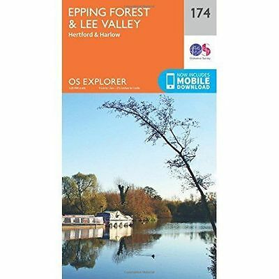 Epping Forest & Lee Valley by Ordnance Survey (Sheet map, folded, 2015)
