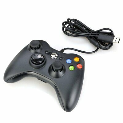Xbox 360 Wired Controller for Windows & Xbox 360 Console PC USB Wired Hot TU