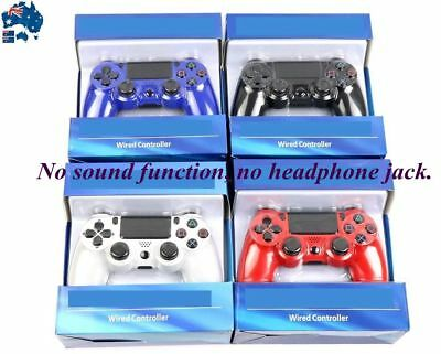 NEW For PS4 4 Dualshock 4 Wired USB Game Controller Gamepad Joypad Joysticks
