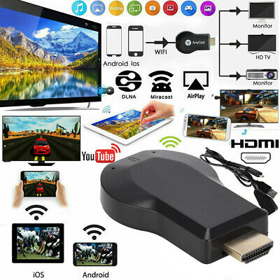 2.4G WiFi HDMI Anycast Miracast Airplay TV Wireless Display DLNA Dongle Adapter