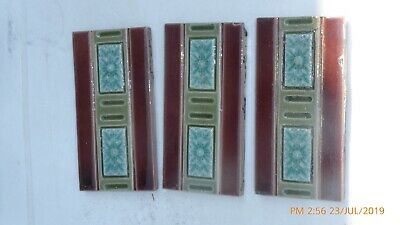 3  Border  Tiles  By J H Barratt & Co