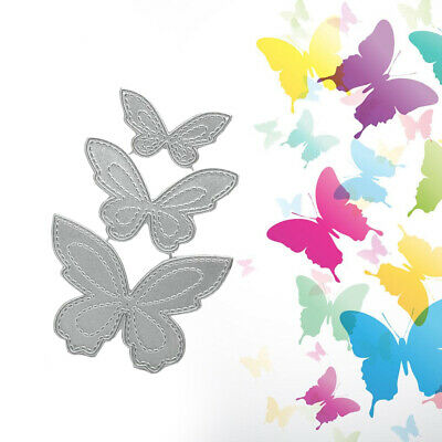 Butterfly Metal Cutting Dies Stencil DIY Scrapbooking Embossing Paper Card Decor